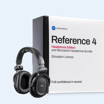 Reference 4 Headphone Edition and Monoprice Hi-Fi DJ Headphone Bundle Education